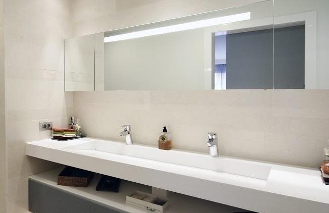 Ayvalık Corian Banyo Tezgahı